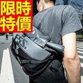 尼龍側背包-輕便可肩背休閒實用男女郵差包1色57b13【巴黎精品】