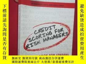 二手書博民逛書店Credit罕見Scoring for Risk Manager