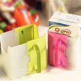 日式可調整牛奶紙盒架 兒童手拿飲料架 鋁箔包架