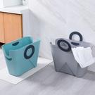 手提臟衣籃臟衣服收納筐玩具收納桶塑膠收納籃臟衣簍洗衣籃 【母親節禮物】