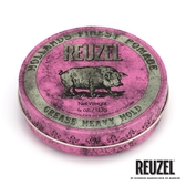 REUZEL Pink Pomade Grease 粉紅豬超強髮油 113g