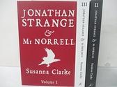 【書寶二手書T1/原文小說_CW4】JONATHAN STRANGE & Mr NORRELL_3本合售_蘇珊娜·克拉克