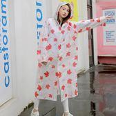 雨衣 戶外旅行單人雨衣女加厚徒步防水便攜式雨披成人男登山旅游 Mt1604『紅袖伊人』