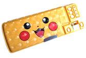 【卡漫城】 皮卡丘 多功能 雙面 筆盒 雷射黃 ㊣版 閃亮 鉛筆盒 Pokemon 神奇寶貝 寶可夢 置物盒