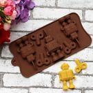 巧克力模  機器人6孔巧克力模 果凍模 皂模 冰塊模 想購了超級小物