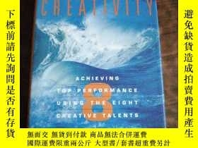 二手書博民逛書店英文原版罕見Breakthrough Creativity: A