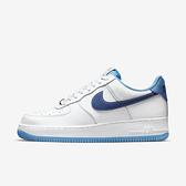 Nike Air Force 1 07 [DA8478-100] 男 運動休閒鞋 經典 皮革 金扣 舒適 AF1 白藍