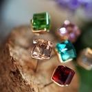 糖果款立體水晶耳環(3色)  情人節禮物 【Vogues唯格思】B002