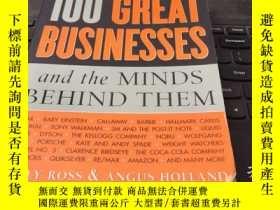 二手書博民逛書店100罕見Great Businesses and the Mi
