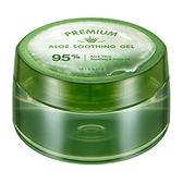 韓國MISSHA 蘆薈95%保濕凝膠(300ml)【小三美日】蘆薈膠