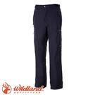 【Wildland 荒野 男款 防水防風保暖長褲《深鐵灰》】0A52328/彈性快乾/休閒褲/機能褲