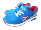 『雙惠鞋櫃』◆DIADORA迪亞多那◆大童女款 透氣 復古 耐磨 3E  減震 運動慢跑鞋◆(DA3966) 藍
