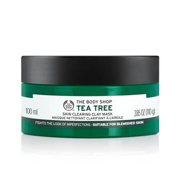 【THE BODY SHOP】天然茶樹淨膚調理面膜100ML