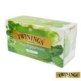 英國【TWININGS 唐寧】沁心薄荷茶 Pure Peppermint 2g*25入/盒
