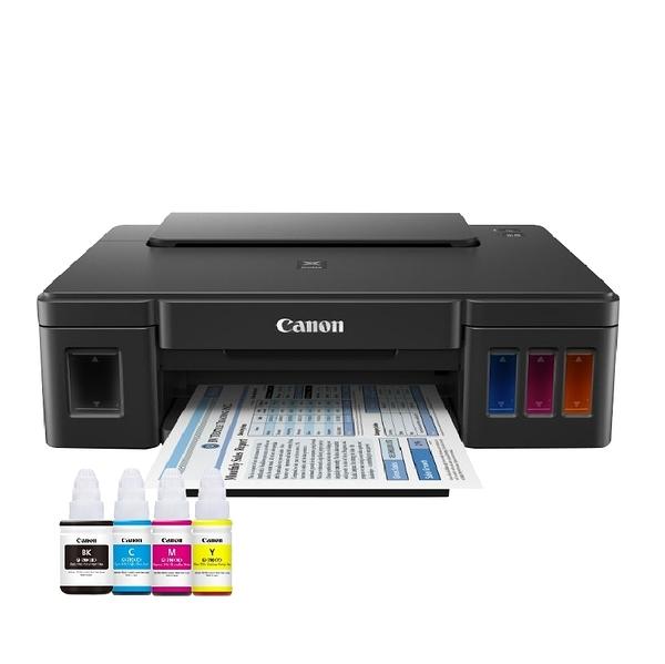 【搭GI-790原廠墨水四色一組】Canon PIXMA G1010 原廠大供墨印表機 原廠保固 登錄送禮卷