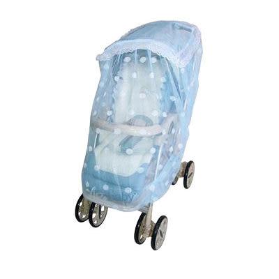【奇買親子購物網】U018 YIP-baby推車蚊帳(米黃/粉紅/水藍)