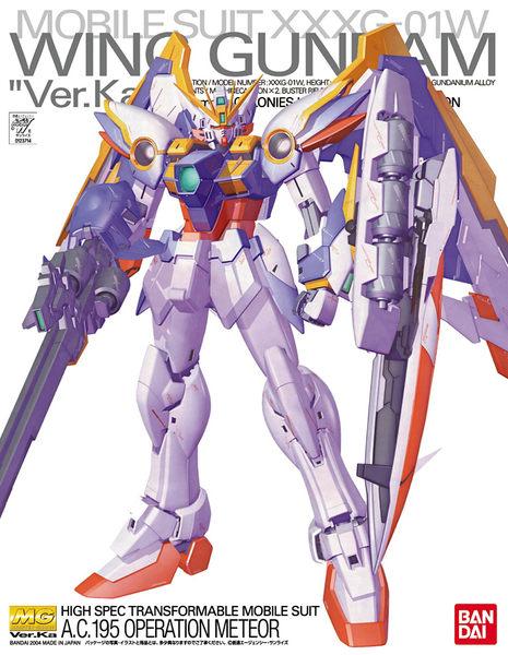 鋼彈模型 MG 1/100 WING GUNDAM 飛翼鋼彈 Ver.Ka TOYeGO 玩具e哥