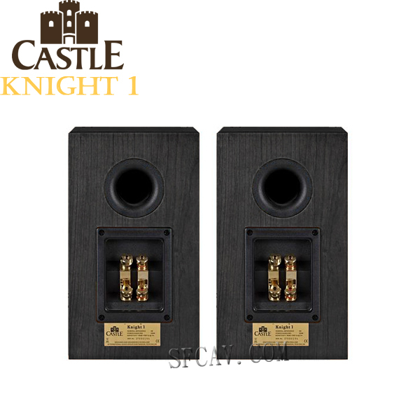 【竹北勝豐群音響】Castle Knight 1 騎士1號 書架喇叭