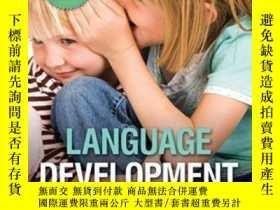 二手書博民逛書店Language罕見Development-語言發展Y436638 Patricia J. Brook...