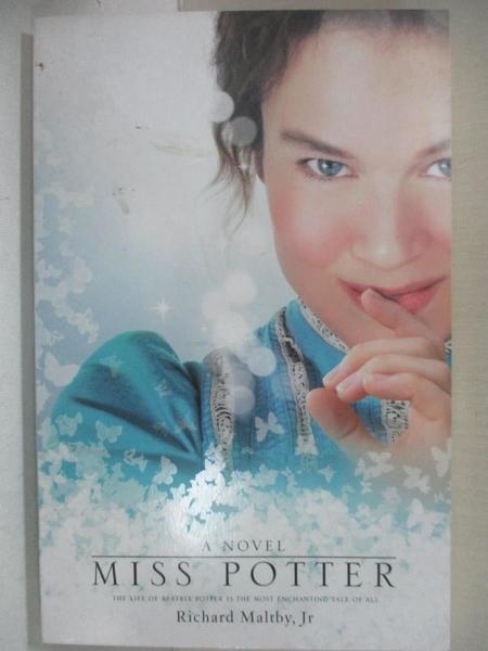 【書寶二手書T1/原文小說_H7N】Miss Potter: The Novel_Richard Maltby