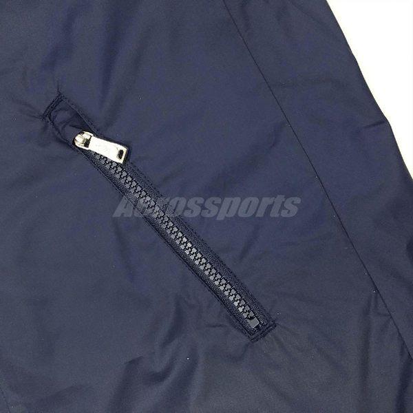 Nike 防風外套 NSW Windrunner Novelty 深藍 螢光黃 女款 夾克 【PUMP306】 903782-451