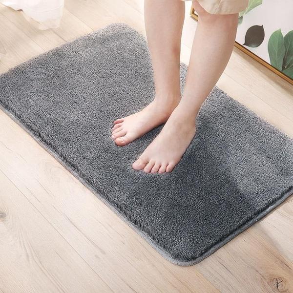 浴室吸水地墊衛生間廁所門墊進門口臥室地毯家用小防滑踩腳墊子 3C優購