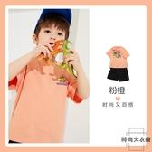 兒童短袖寶寶童裝純棉T恤【時尚大衣櫥】