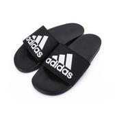 ADIDAS ADILETTE COMFORT 運動拖鞋 黑白 CG3425 男鞋 鞋全家福