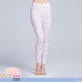 【WIWI】蘋果白雪溫灸刷毛九分發熱褲(純淨白 女S-2XL)