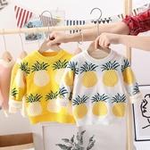 兒童毛衣 女童毛衣2019新款兒童加絨加厚秋冬裝套頭線衣男童寶寶針織打底衫【星時代女王】