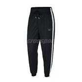 Nike 長褲 NSW Swoosh Pants 黑 白 女款 運動休閒 【ACS】 BV3554-010