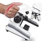 顯微鏡 兒童顯微鏡小學生專業5000生物高倍光學科學看精子中學生10000倍 韓菲兒