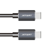 JETART 急速傳輸線 【CAC6302】 USB 3.1 TYPE-C to TYPE-C 充電線 新風尚潮流