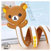【辦公任選3件88折】動物造型 繞線器 收線器 捲線器 集線器 方便收納 可愛 棕色熊(79-0298)