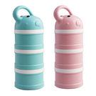 小小家 BabyTalk 可愛動物奶粉分裝盒-大象 粉紅/粉藍