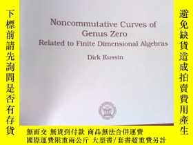 二手書博民逛書店Noncommutative罕見Curves of Genus