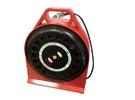 [家事達] HS-電精靈 HS-(2F-100) 延長線 電纜捲盤-100尺 特價 輪座