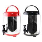 【雄獅】CK-518 8L 不鏽鋼日式手提保溫桶/茶桶/啤酒桶/紅茶桶/飲料桶