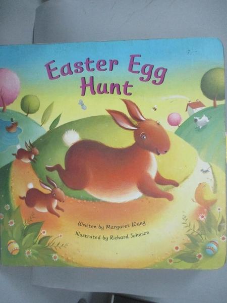 【書寶二手書T4/兒童文學_NFQ】Easter Egg Hunt_Wang, Margaret/ Johnson, Richard (ILT)
