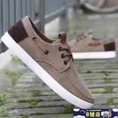 老北京布鞋男士春夏季防臭透氣休閒鞋牛筋底防滑工作鞋百搭帆布鞋 8號店