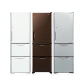 日立394公升三門(與RG41B同款)冰箱GPW琉璃白RG41BGPW