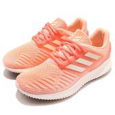 adidas 慢跑鞋 AlphaBOUNCE RC.2 W 橘 白 鯊魚鰓 女鞋 大童鞋 運動鞋【PUMP306】 CG5597