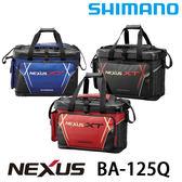 漁拓釣具 SHIMANO BA-125Q 黑 / 紅 #36L (軟式冰箱)
