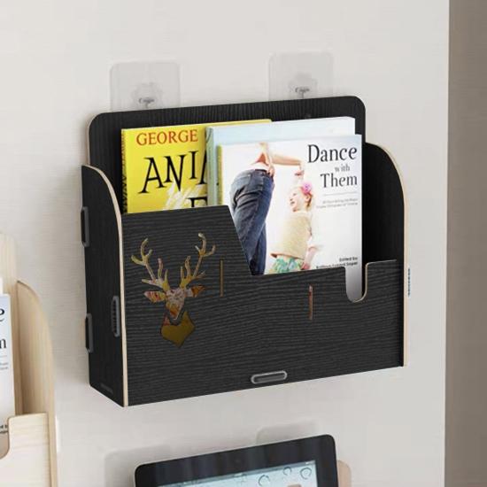 收納架 置物架 收納盒 鹿角 鹿頭 美式 工業風 壁掛 手機架 DIY 麋鹿款壁掛架【P427】生活家精品