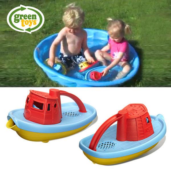 【美國Green Toys】水鴨子拖船