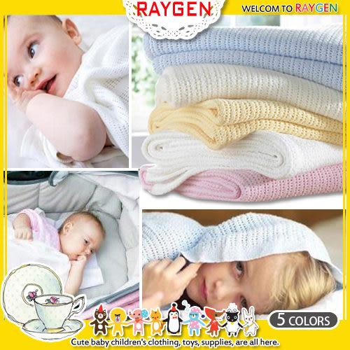 毯子柔軟 透氣 編織 蓋毯 洞洞毯 嬰兒被