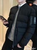 棉衣男2019冬季新款棉襖短款外套 男士潮流保暖帥氣冬裝韓版棉服 黛尼時尚精品