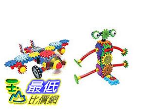 [美國直購] Techno Gears 2套裝Aero Trax Plane&Wacky Robot 80件每套
