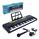 【888便利購】54鍵兒童多功能高級電子琴(USB充電+附麥克風)(32810)