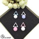 韓版糖果衣色系甜美可愛風時尚耳環 (0652)